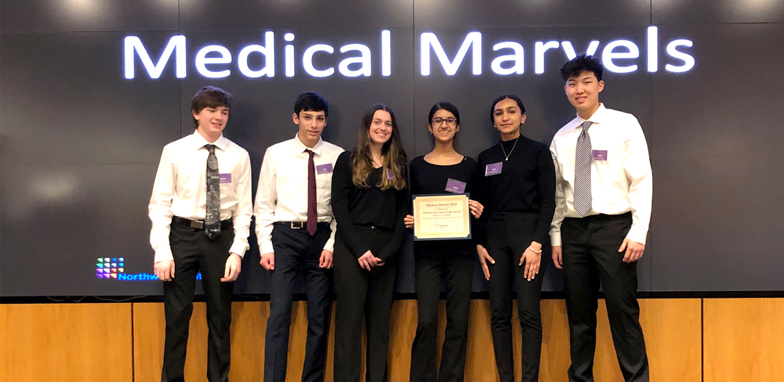 JGHS Team of Researchers Named Best Presenters