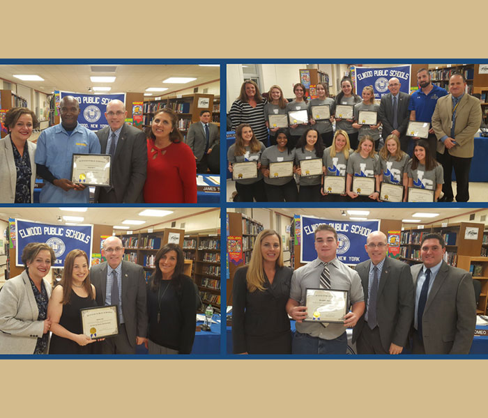Students and Staff Recognized for Excellence