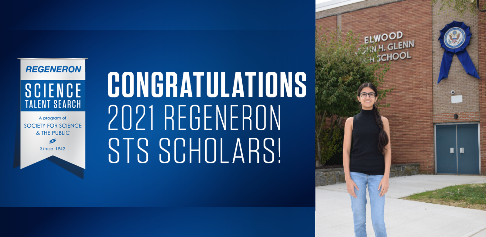 Student Rithika Narayan Named 2021 Regeneron Science Talent Search Scholar