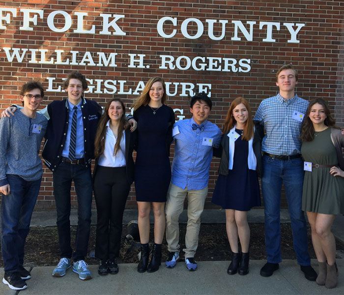 Politically Minded Students Learn First-Hand Legislation