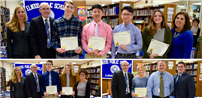 Board Honors Outstanding High School Students