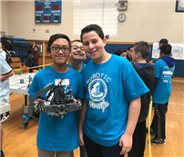 Elwood Middle School Hosts VEX Robotics Competition photo