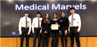 JGHS Team of Researchers Named Best Presenters photo