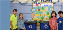 Recycling Responsibility at James H. Boyd photo