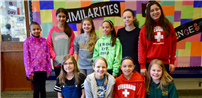 Sixth-Graders Honored for Service Photo