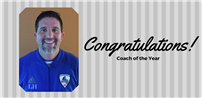 Coach Hanner Named Soccer Coach of the Year Photo