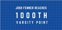 Student Athlete Reaches 1000th Varsity Point photo