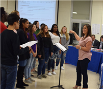 District Sings Praises for Board of Education photo