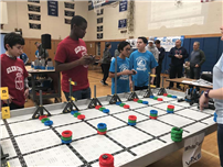 Elwood Middle School Hosts VEX Robotics Competition photo 3