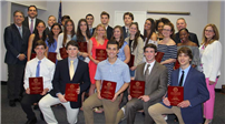 Scholar-Athletes Honored by Town of Huntington photo 2