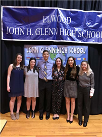 JGHS World Language Honor Society Induction photo 2