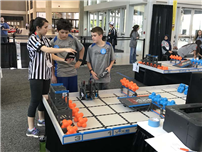 Students Compete in World Robotics Competition Photo 3