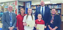 Students Honored for Displaying Friendship Photo1