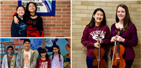 Orchestra Students Shine at Music Festivals